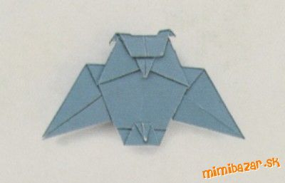 Origami sova