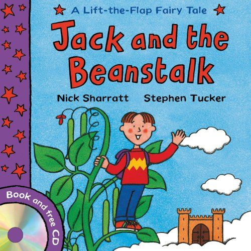 Jack And The Beanstalk Lift Flap Fairy Tales By Stephen Tucker