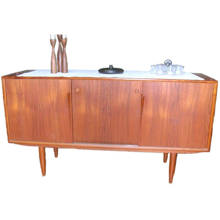 Mid-century modern credenza for dining room