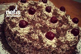 Vişneli Çikolatalı Pastam