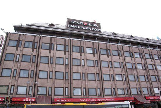 Turku Nightlife | Original Sokos Hotel Hamburger Bors: The pretty ugly exterior of the ...