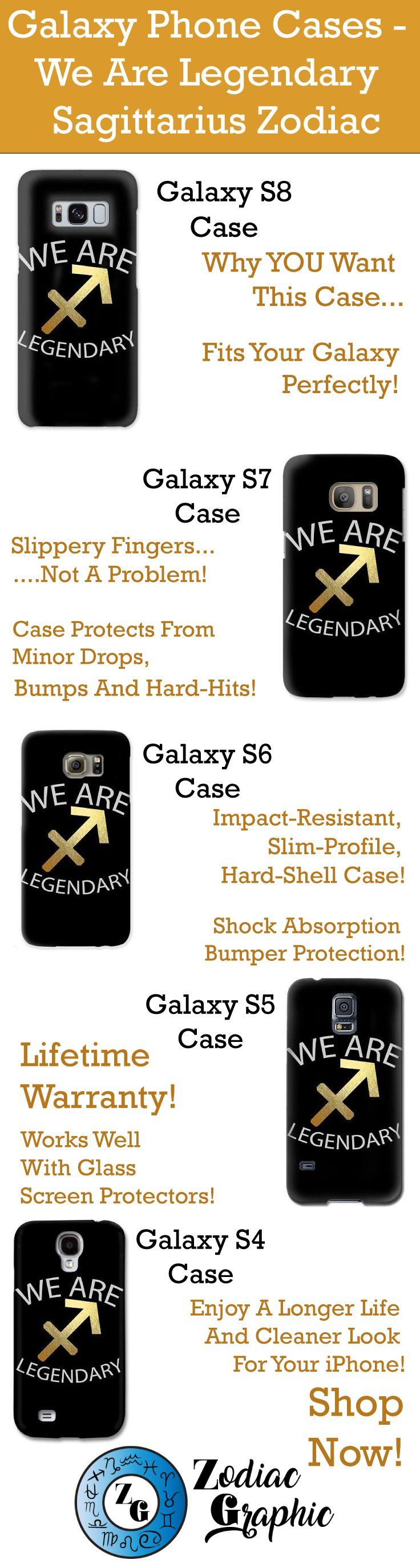 Galaxy S8 || Galaxy S7 || Galaxy S6 || Galaxy S5 || Galaxy S4 || We Are Legendary Sagittarius - Phone Case | Zodiac || Zodiac Sign || Zodiac Gift || Sagittarius || Sagittarius Zodiac Gift || Gift For Sagittarius || November Birthday Gift || December Birthday Gift