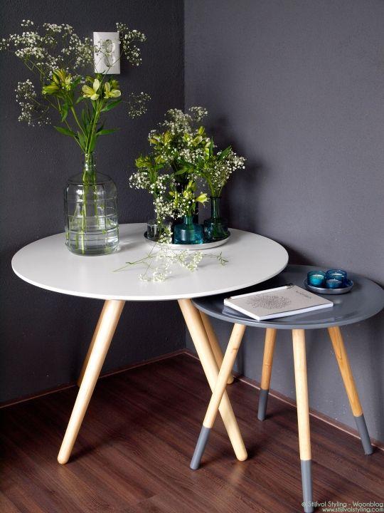 Interieur inspiratie | Zuiver bijzettafels Two tone & Bee - Review i.s.m. Eboya - Stijlvol Styling Woonblog www.stijlvolstyling.com