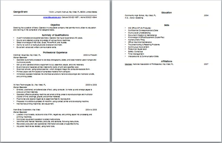 Copier sales resume samples httpwwwresumecareerinfo