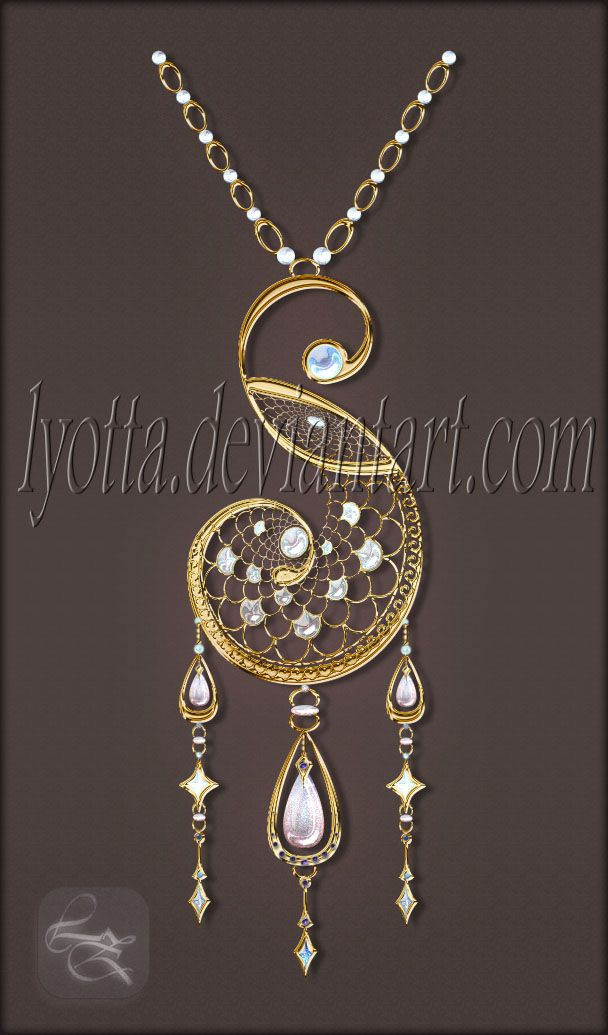 Amulet Jewelry Pendants Sothon: Amulet Pendant Set Lyotta 16 By Lyotta