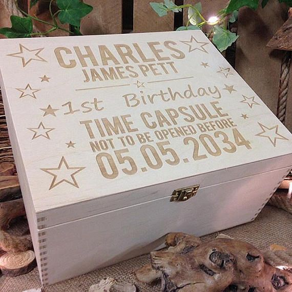 Best 25+ Baby Memory Boxes Ideas On Pinterest