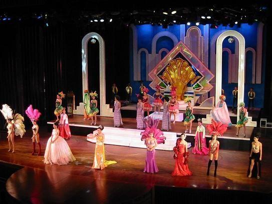 Ladyboy Cabaret Show in Bangkok, Thailand