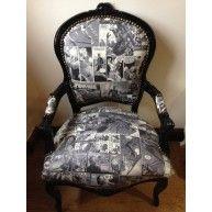 #Comic #book fabric chair