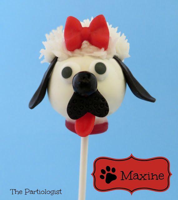 Cake Pop Pup Paw'ty Amazing #cakpops!