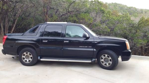 2002 Cadillac Escalade EXT, loaded but high miles