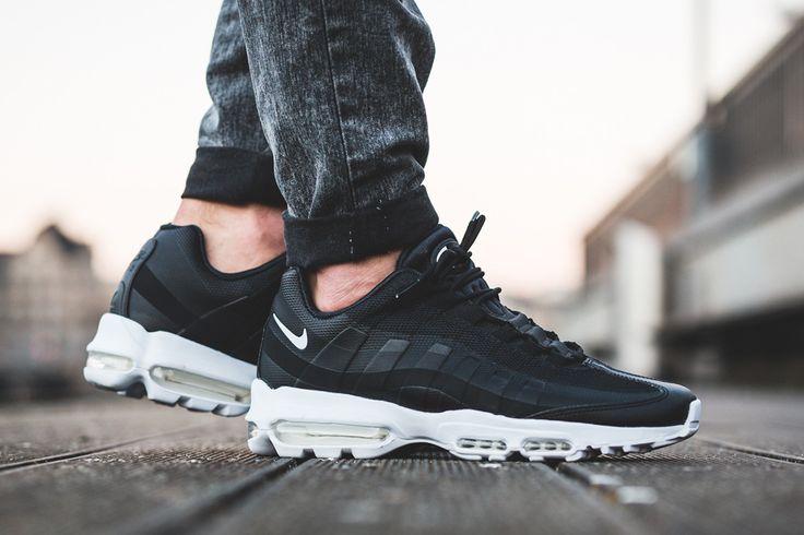 "Nike Air Max 95 Ultra Essential ""Black/White"" - EU Kicks Sneaker Magazine"