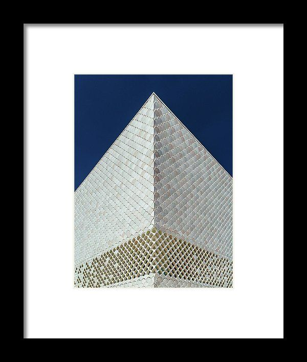 Abstract Architecture In Lisbon, Portugal Framed Print
