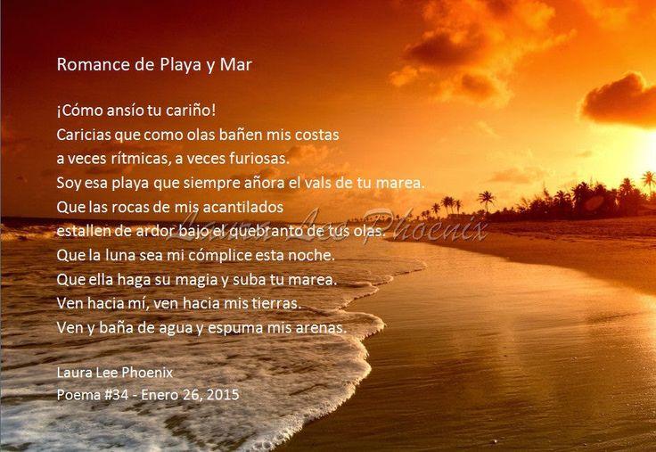 Romance de Playa y Mar. Poema por Laura Lee Phoenix