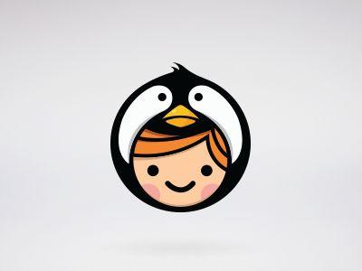 'Penguin Child' Logo