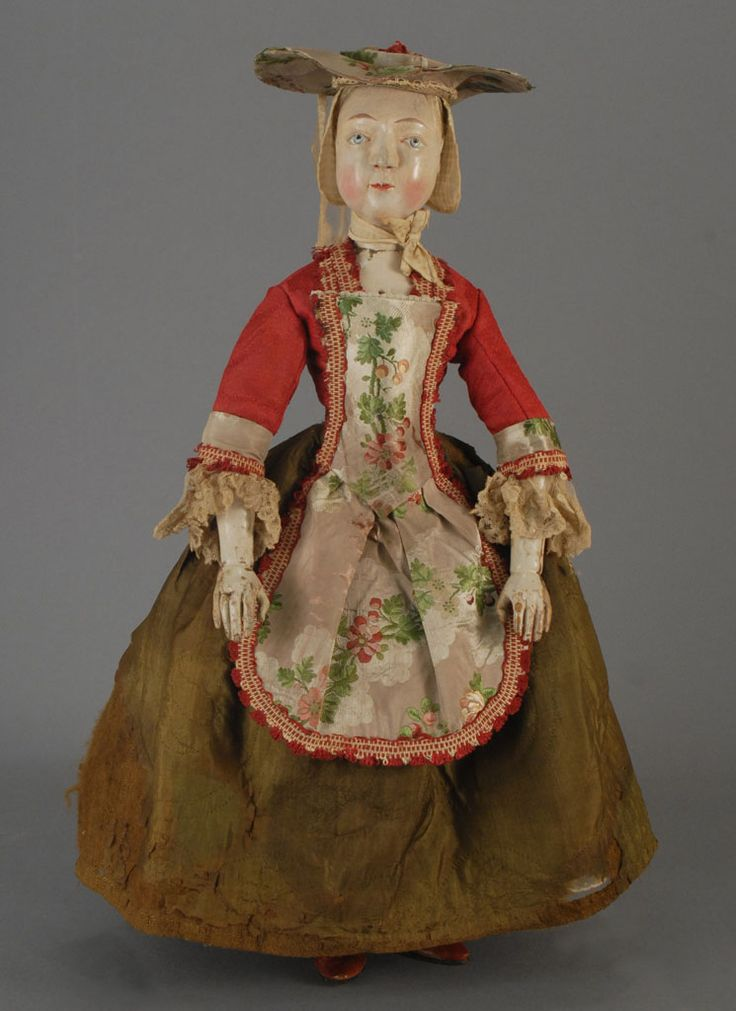 Carmel Doll Shop -Early Dolls-  Flemish Wooden, circa 1740