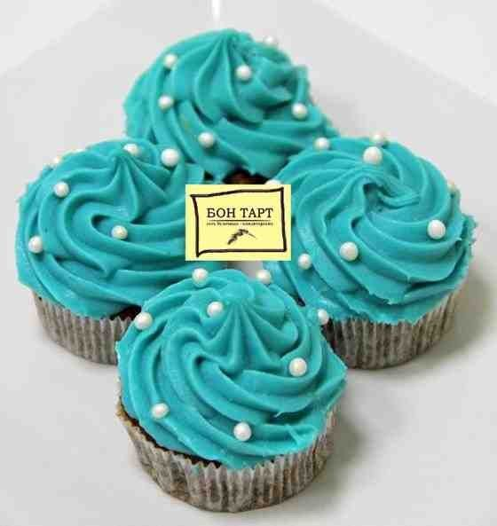 Мятные капкейки - Tiffany! Заказ +7(965)329-31-63. Доставка от 1000 р