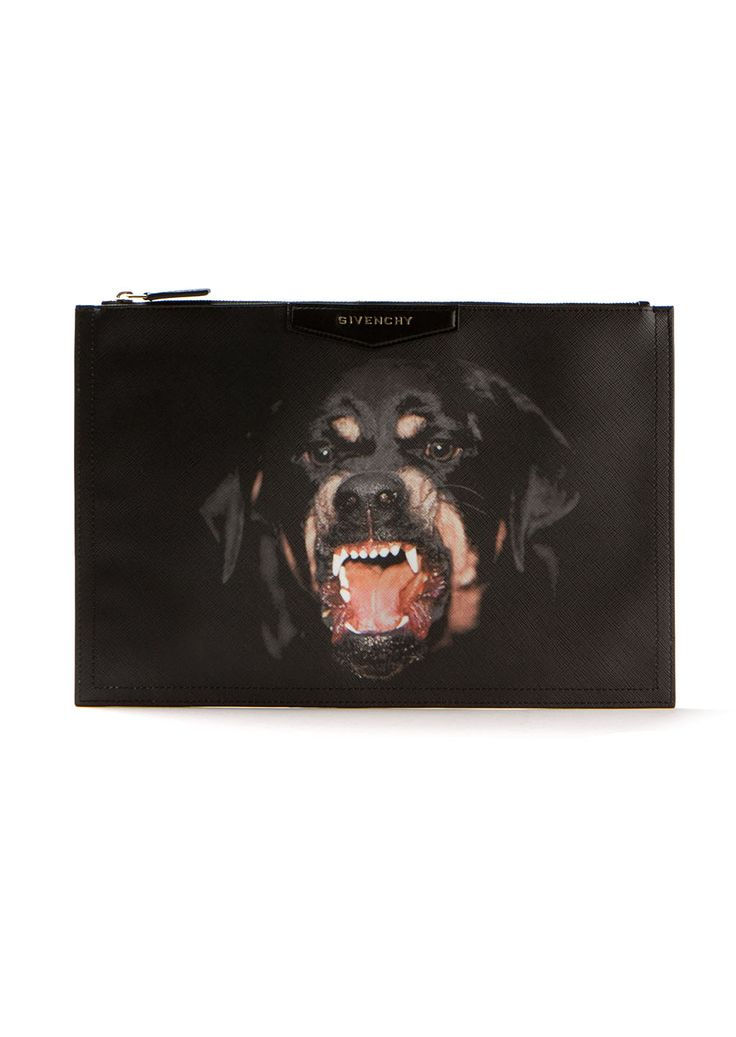 Givenchy Clutch bags :: Givenchy Antigona Rotweiller-print clutch bag | Montaigne Market