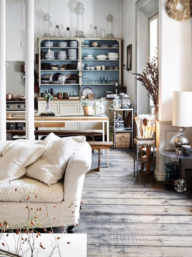 Best 25 shabby chic apartment ideas on pinterest shabby Kitchen living room apartment therapy
