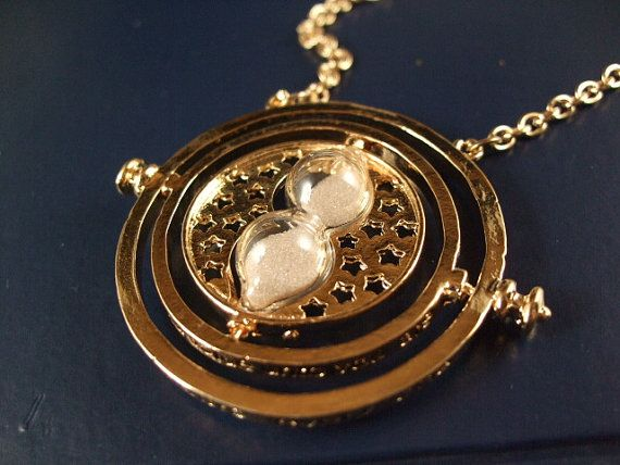 Harry pottery jewelry time turner chain Deathly by romeilushop, $1.59