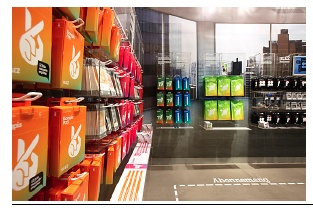 Store concept for telecom Tele2 together with KurppaHosk and Boys don't Cry