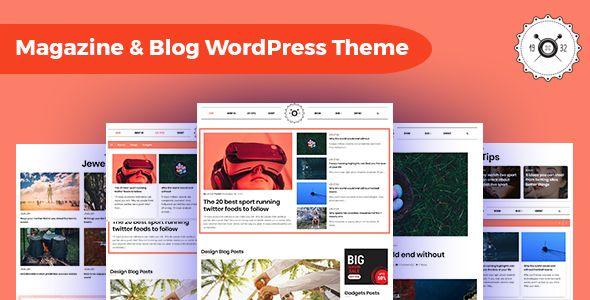 Octamag Viral Blog Magazine Wordpress Theme In 2020 Magazine Theme Wordpress Viral Blog Wordpress Theme