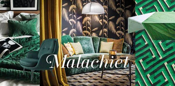 Interieurtrend Residence malachiet groen