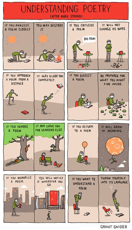 The latest from Grant Snider at Incidental Comics.