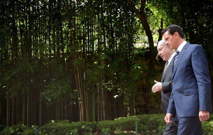 El día de ayer, el presidente Enrique Peña Nieto, recibió al Primer Ministro del Estado de Israel,Benjamín Netanyahu, la visita de trabajo tiene como #México, #Israel #EPN #EnriquePeñaNIeto #benjaminnetanyahu