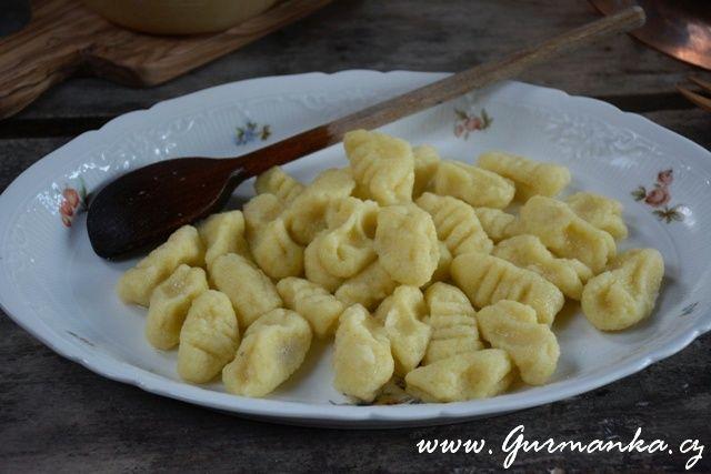 Domácí bramborové noky Gnocchi