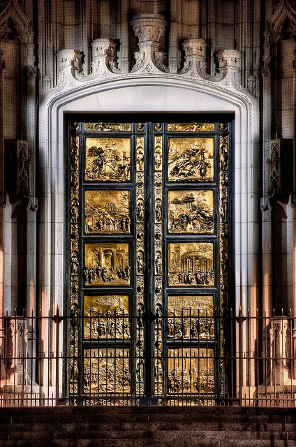 Gates of Paradise by Pathos Photos, via Flickr. Designed by Ghiberti for Florence Cathedral.