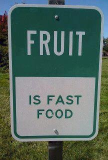 Fruit is fast food. #tw: Food Recipes, Fruit, Quote, Healthy Eating, Drinks Recipes, Truths, Fast Food, Weights Loss