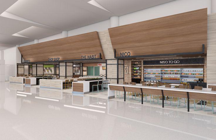 Food hall phoenix sky harbor international airport bar