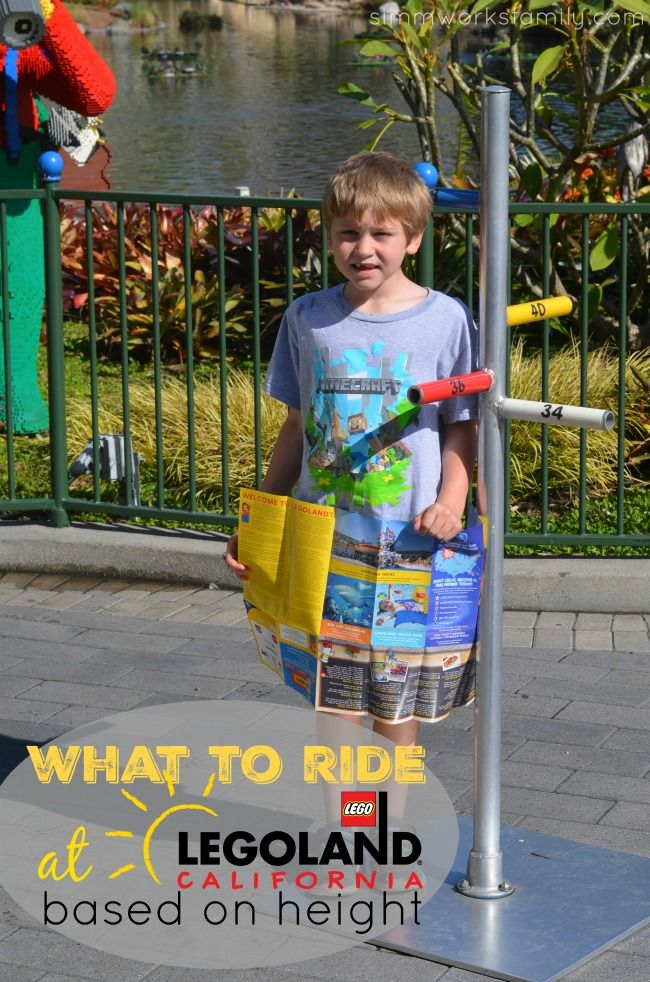 What To Ride At Legoland California - A Height Based List