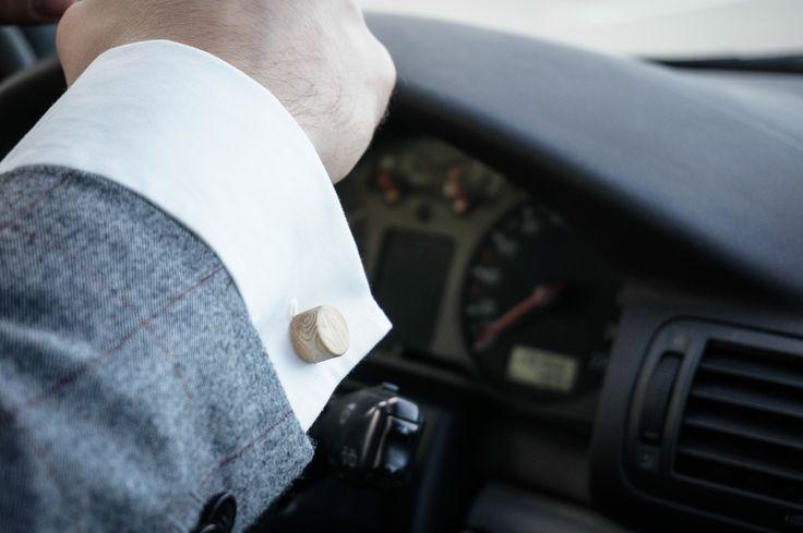 woodenknag cufflinks - roller