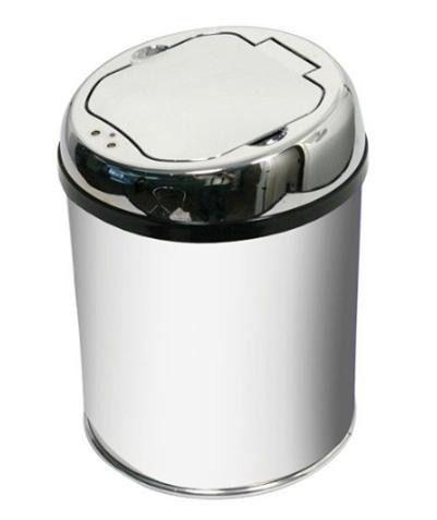 Lixeira Automática Aço Inox - 3 Lts - Sensor De Aproximação