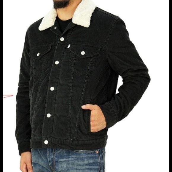 Levi's Jackets & Coats - Mens Levi's Corduroy Sherpa Trucker Jacket