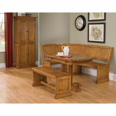 Corner Nook Dining Set Perfect For Small Areas!
