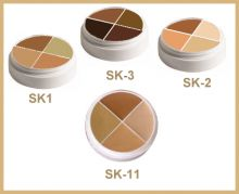 Concealers and correctors by Ben Nye. Easy on the wallet and great quality