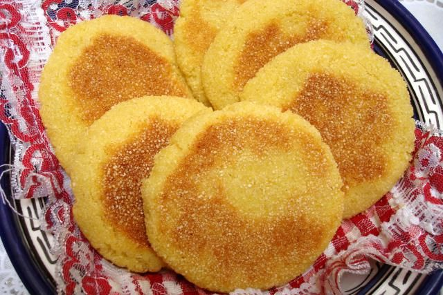 Moroccan Harcha - Almost Like Cornbread but Better!: Serve Harcha with Jam, Cheese or Butter and Honey