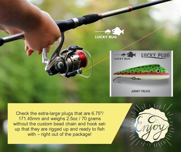 Put more fish on your line with Trimaxx Technology fishing lures • See our unique Bingo Bugs, Fusion Lures, Lucky Plugs & Zombie Maxx Lures @ LuckyBugLures.com