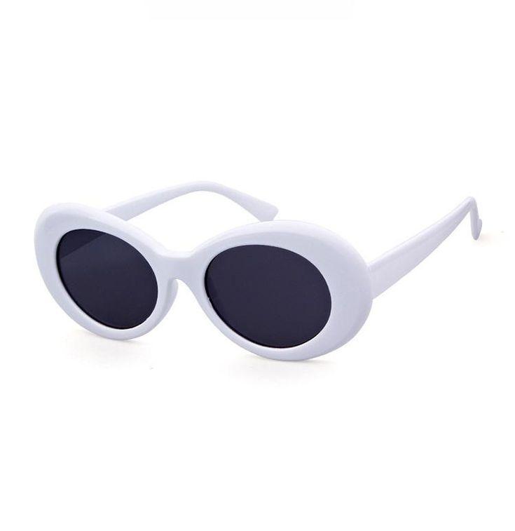 Oval Bold Vintage Sunglasses For Women Men Clout Goggle Sunglasses Sunglasses Vintage Goggle Sunglasses Sunglasses Women
