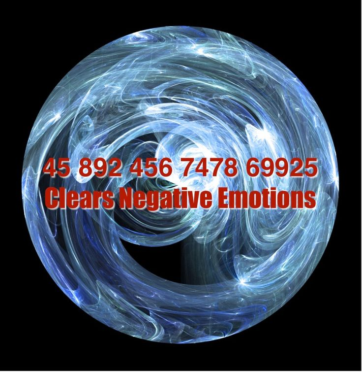 Grabovoi number sequence to clears negative emotions             45 892 456 7478 69925