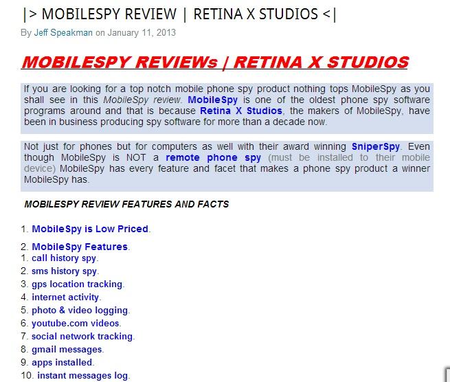 mobile spy reviews x factor panda