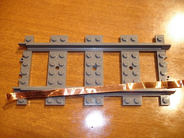 Make Plastic Lego Train Tracks Backwards Compatible with 9V and 12V Tracks