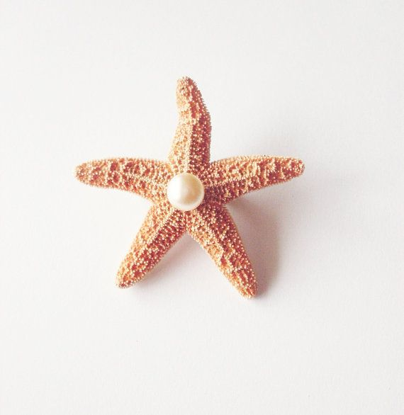 Starfish Pearl Boutonniere  Starfish Boutonniere by dreamsbythesea, $15.00