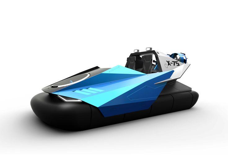 jan bujnak, hovercraft concept