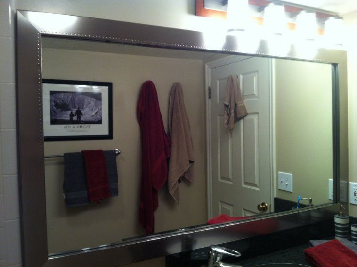 11 Best Frames For EXISTING Mirrors Images On Pinterest
