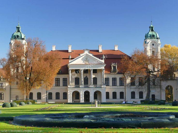 Muzeum Zamojskich / Kozłówka, Polska  #monuments #architecture #travel