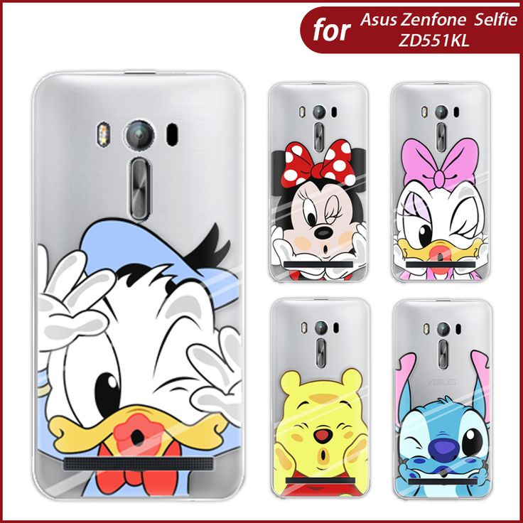 Phone Case For Asus Zenfone Selfie ZD551KL 5.5-inch Cute Animation Characters High Quality Painted TPU Soft Case