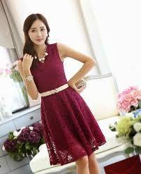 Resultado de imagen para vestidos coreanos 2016